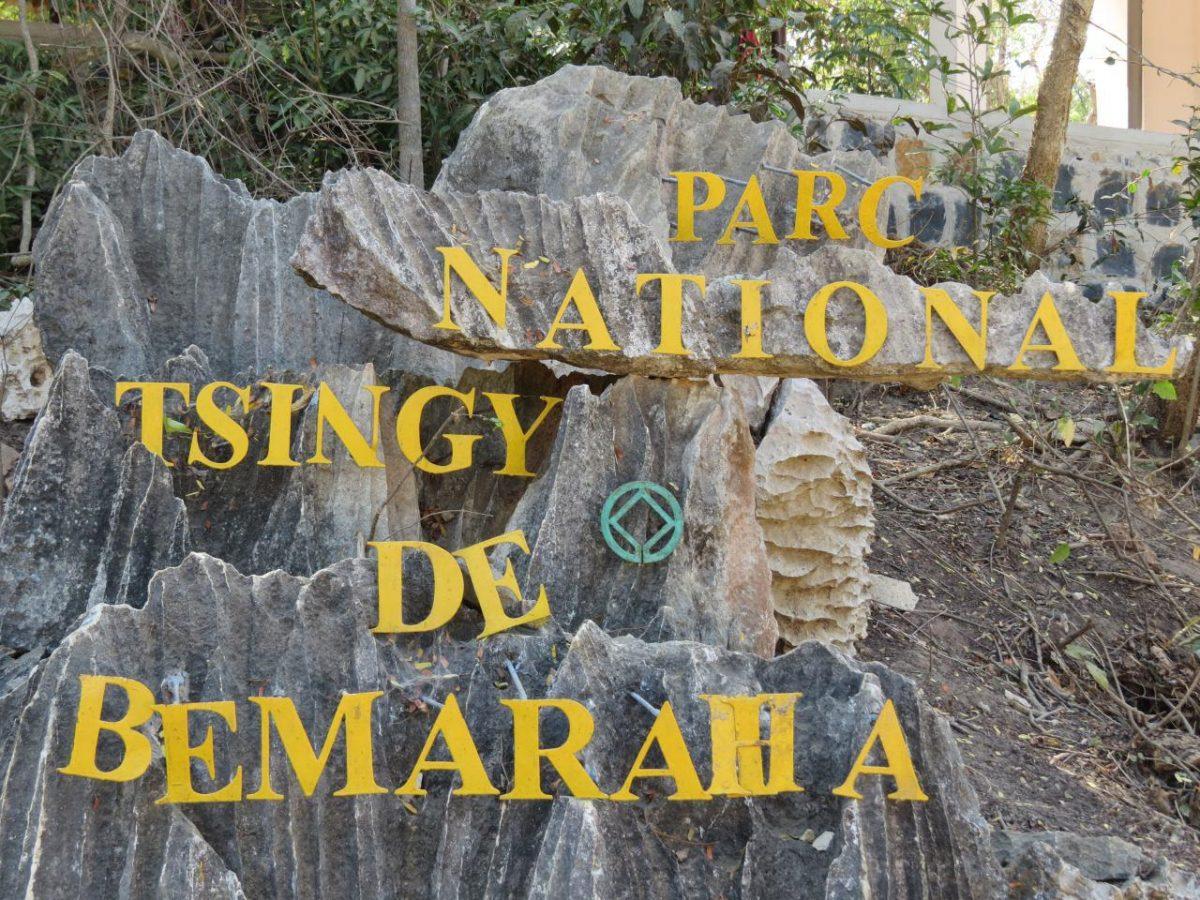 نمایی از ورودی پارک ملی بماراها در حاشیه رودخانه مانامبولو
