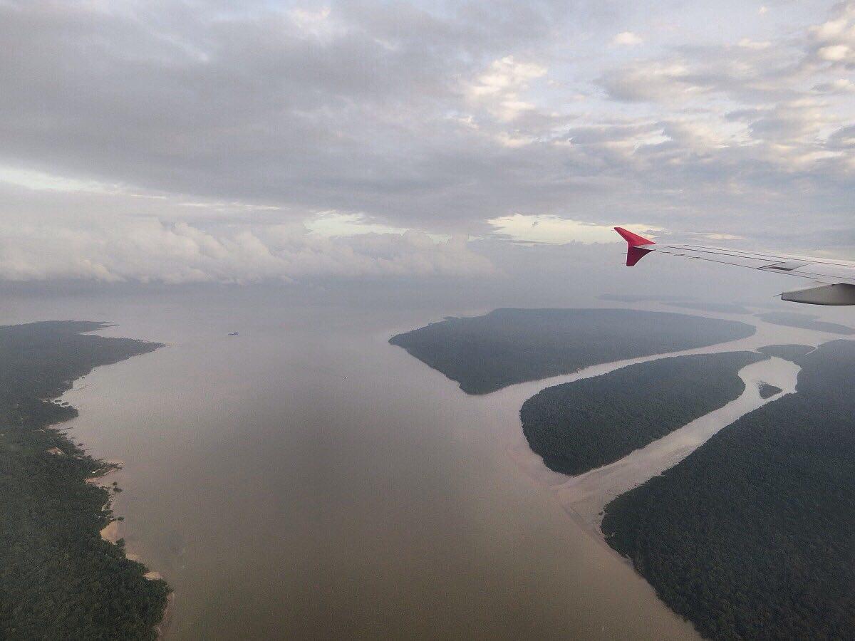 این هم تصویر بخشی از رودخانه آمازون