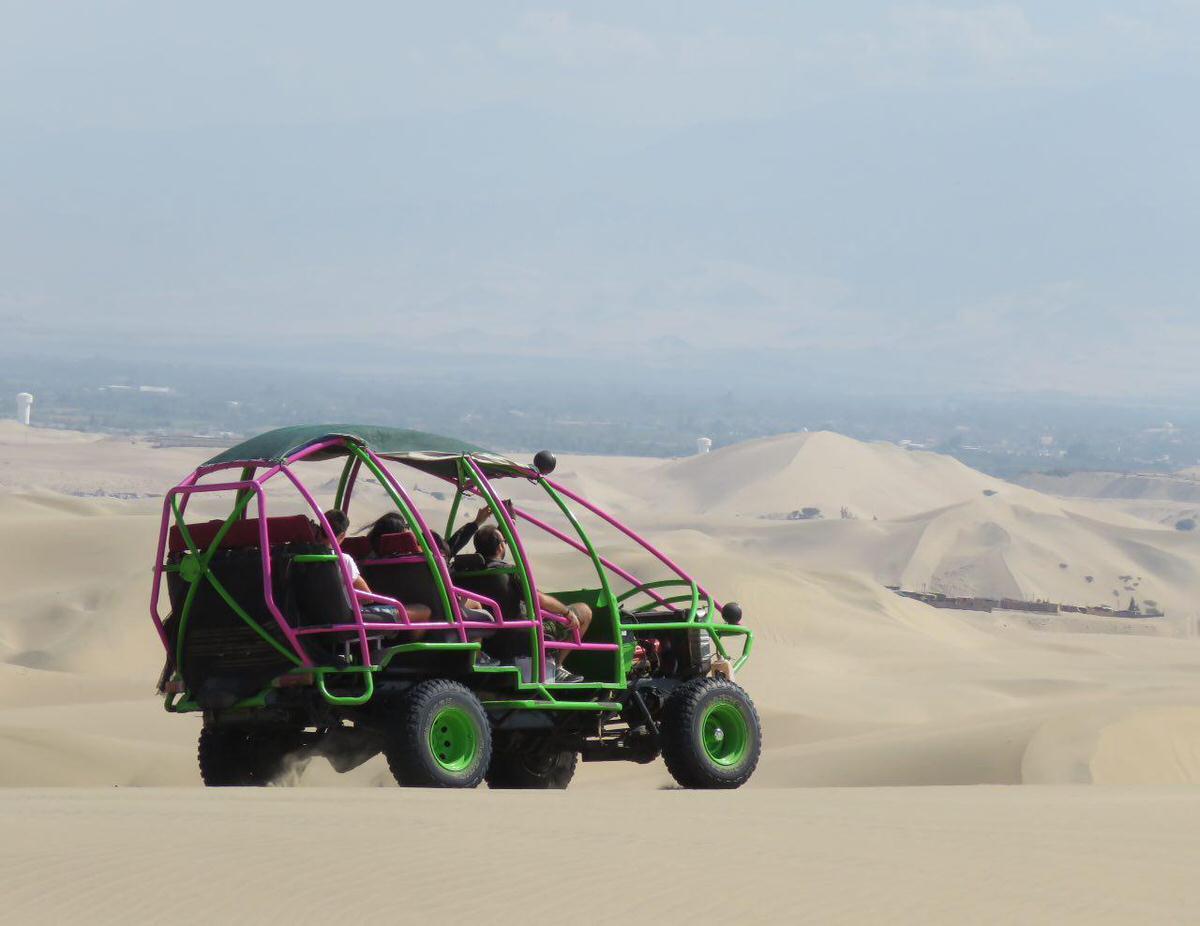 این هم طرحی از بوگی های پرویی برای آفرود بازی در رمل های ایکا و نازکا