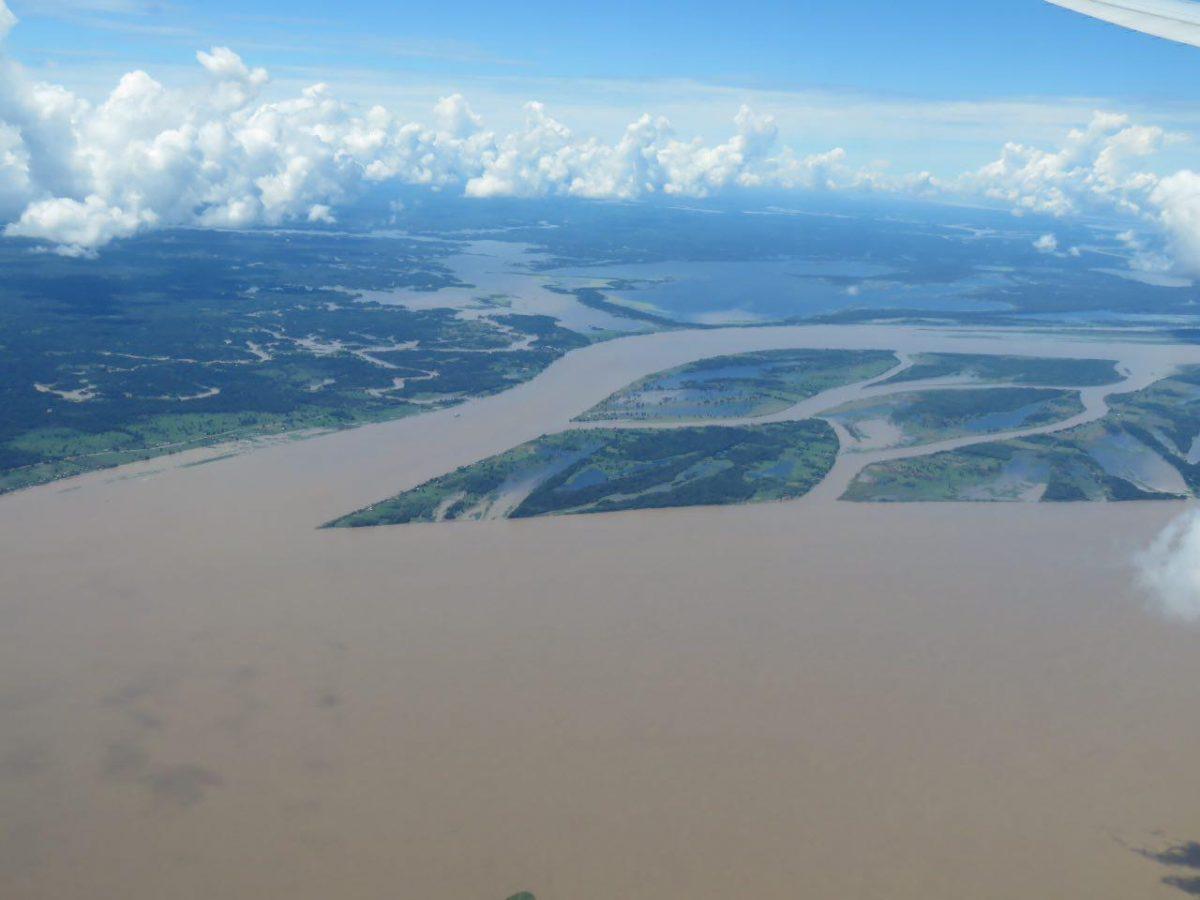 همچون شریانی از رگ های بدن در هم تنیده اند آبراهه ها و رودها در آمازون، دست به دست هم می دهند و به هم می پیوندند تا پرآب ترین دنیا را بسازند..