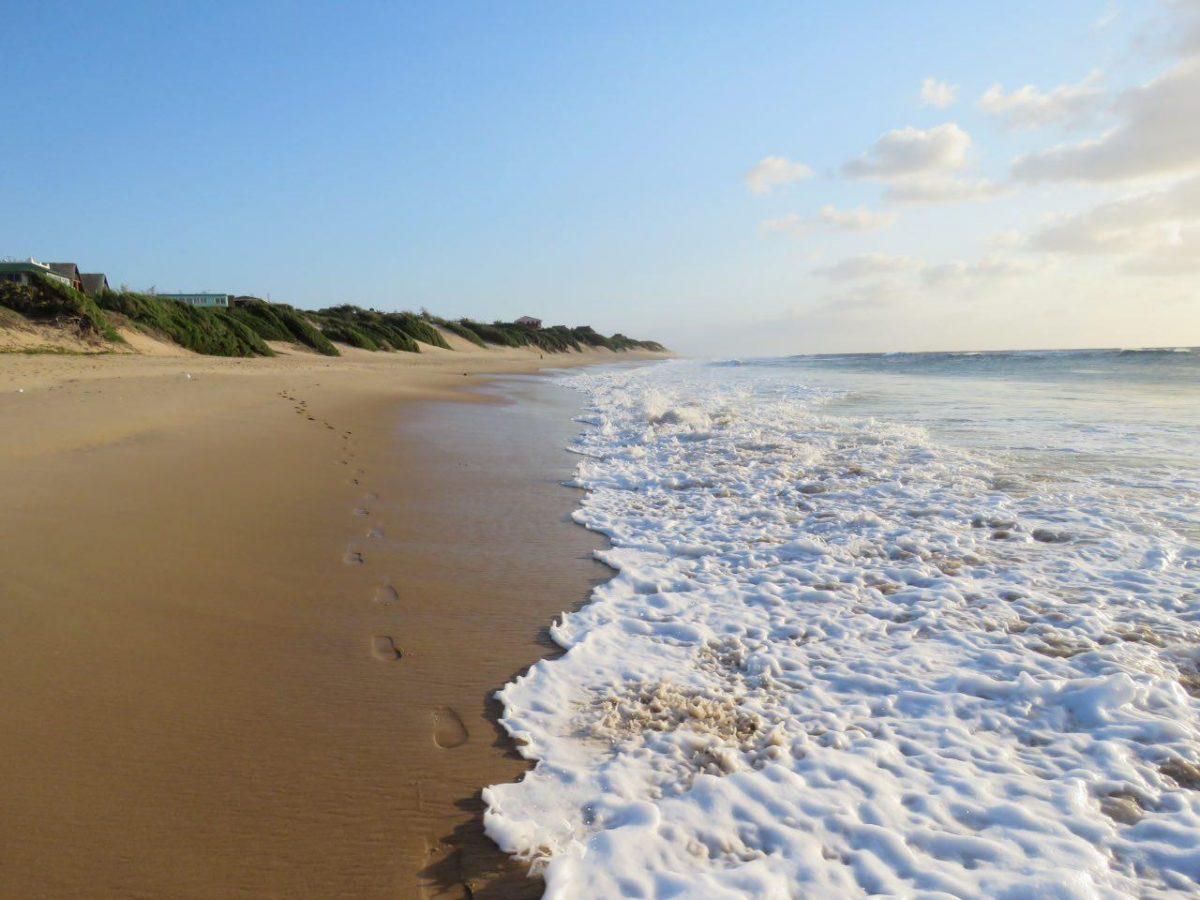 از من فقط رد پایی بر جا می ماند بر پهنه ساحل که آن هم موج و آب، امانش نخواهد داد و با خود خواهد برد، نمی دانم تا کجا!