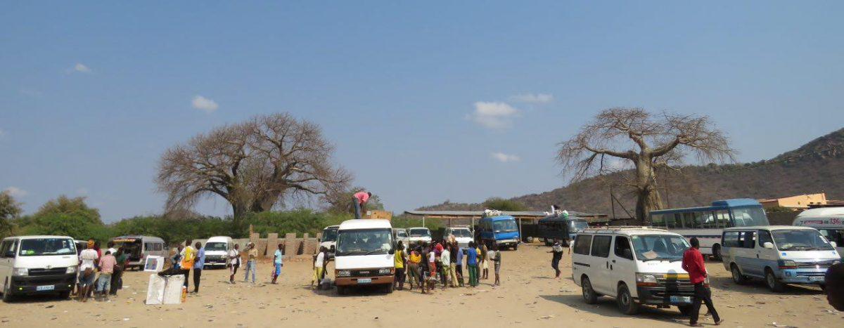 """قبل ظهر است که سلانه سلانه می رسیم به شهر """"تِ تِ"""" و ترمینال شهر که البته هیچ شباهتی به ترمینال ندارد! همراه مسافری از زیمبابوه که حالا باهم دوست شده ایم برای فروش اجناسش عازم بازار محلی شهر می شویم..."""