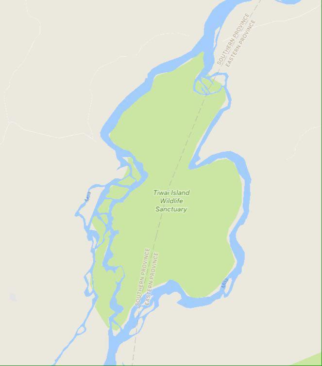 """رودخانه """"موای"""" که از پرآب ترینهای آفریقاست از کشور مالی سرچشمه می گیرد و با عبور از گینه و سیرالئون، خود را به اقیانوس امن اطلس می سپارد، در بین راه اما تکه ای از بهشت را دور می زند به نام جزیره تیوای"""